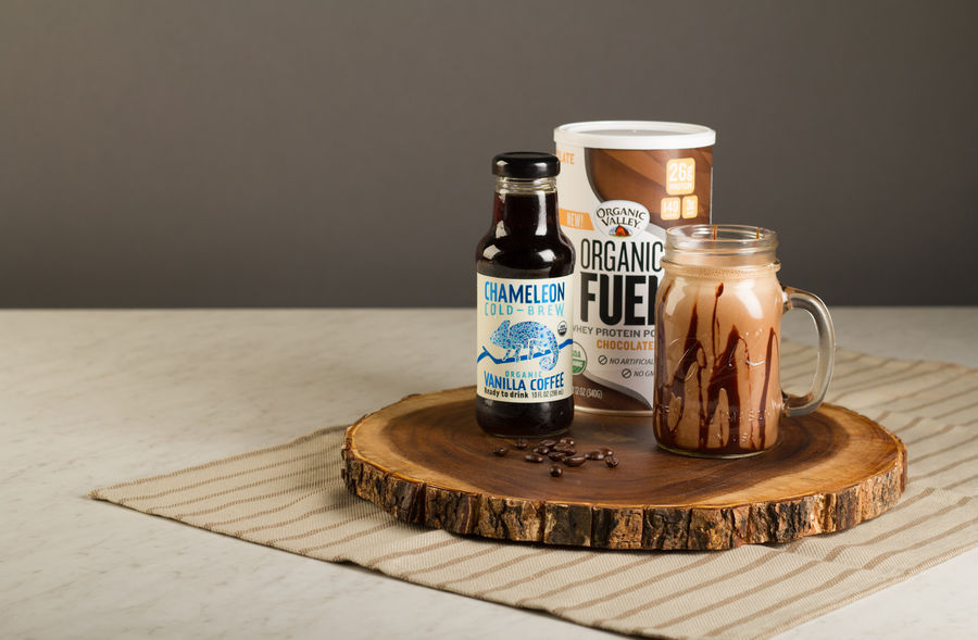 Chameleon Cold-Brew and Organic Fuel Chocolate Coffee Protein Shake