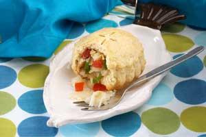 Saltfish Pie