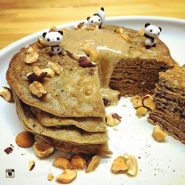 Chameleon Cold-Brew Hazelnutty Pancakes