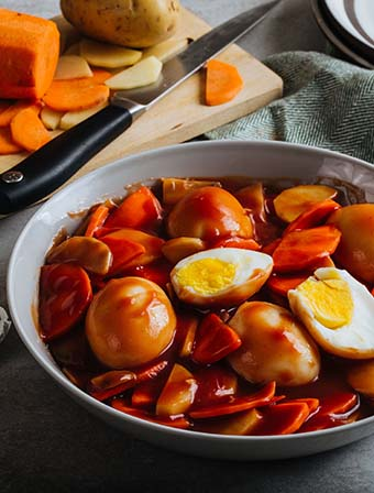 Egg Caldereta