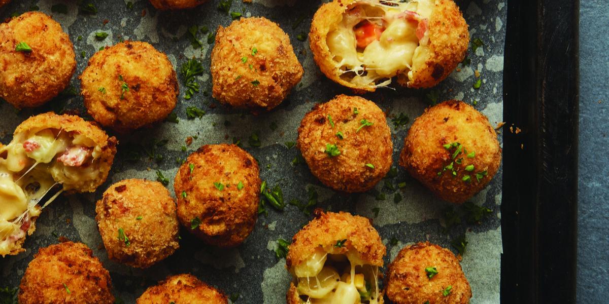 Fried Pasta Balls