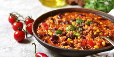 Bolognese chili con carne
