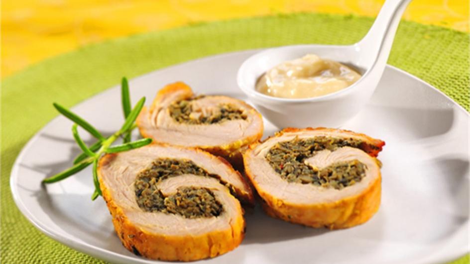 Filet z indyka z pieczarkami