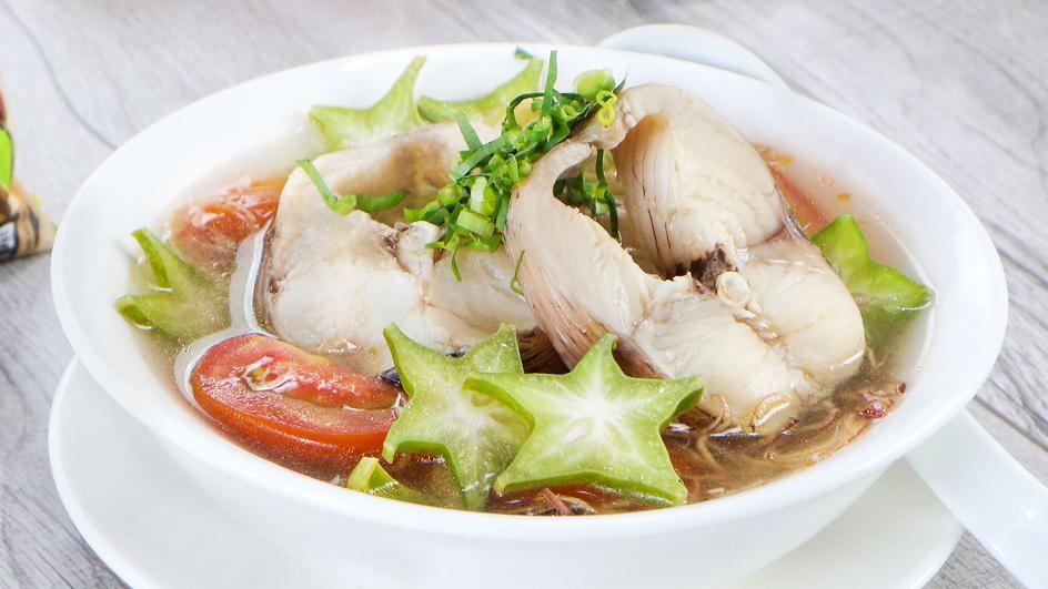 Canh Chua Cá Lóc Miền Trung