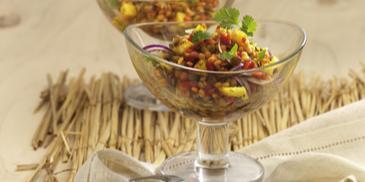Mango-Linsen-Salat