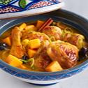 Chicken Tagine with Pumpkin & Prunes