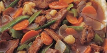Stir Fried Beef in Oyster Sauce