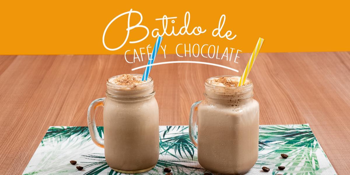 BATIDO DE CAFÉ Y CHOCOLATE