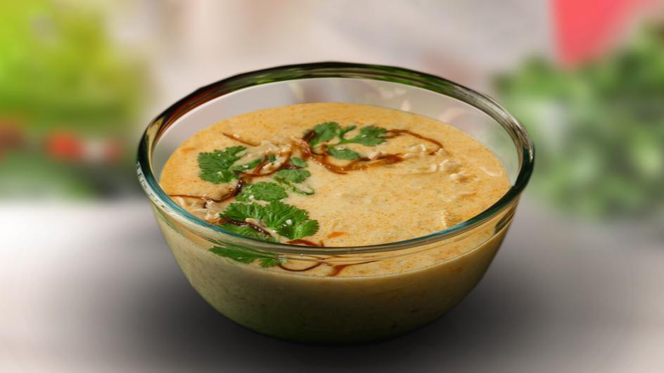 Chicken Kanji Porridge with Maggi Chicken cubes and Maggi Coconut milk powder