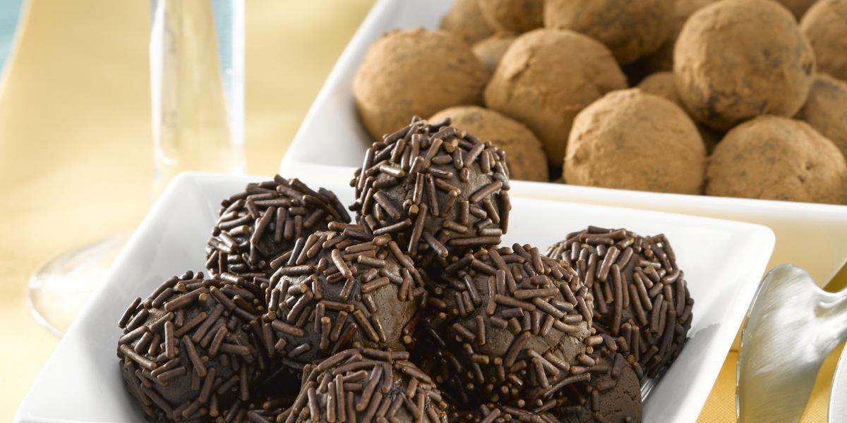 Trufas de Leche Condensada con Chocolate Amargo