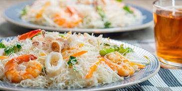 White Fried Beehoon ala Singapore