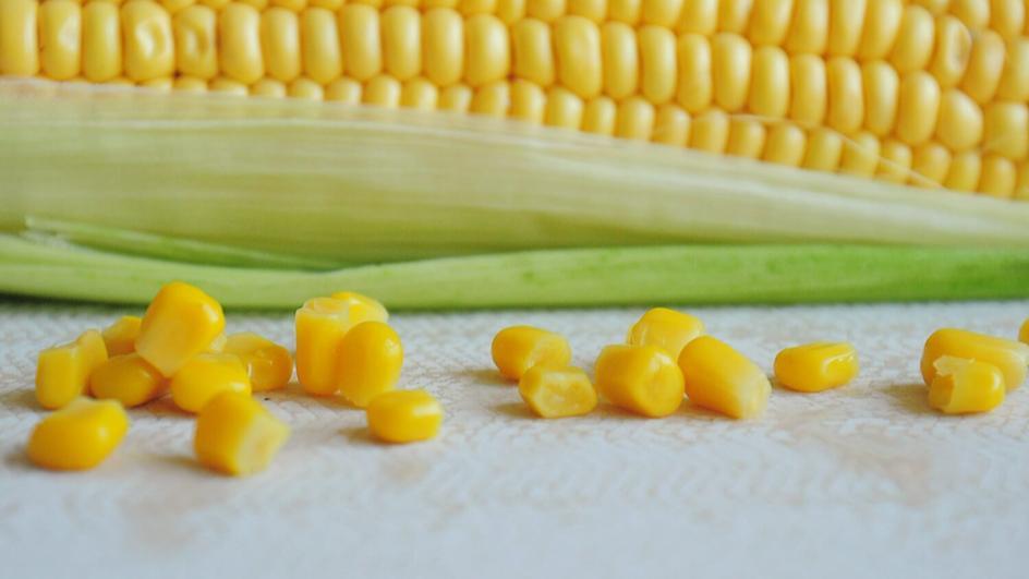 Zupa z kukurydzy z kurczakiem