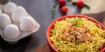 Egg Bhurji MAGGI Noodles Recipe