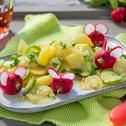 Kartoffel-Gurken-Salat mit Mäusen