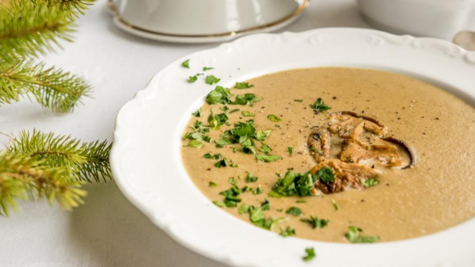 Zupa borowikowa nie tylko na święta
