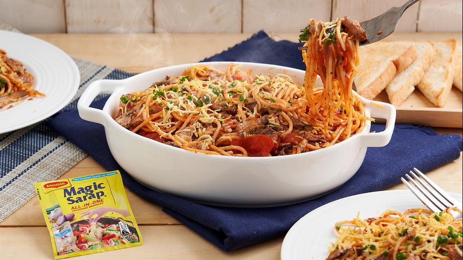 ALL-IN-ONEderful Sardines Spaghetti
