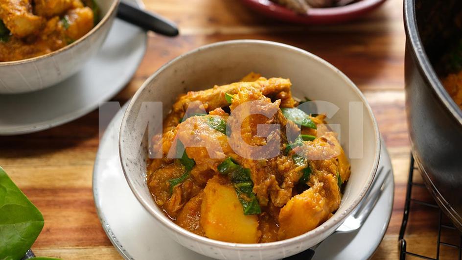 Ragoût de patate douce aux épinards