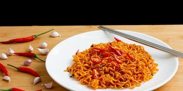 Chilli Garlic Soya Noodles Recipe