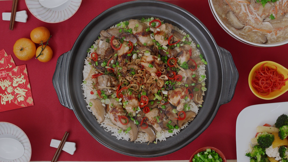 Nasi Ayam Tembikar Tradisi