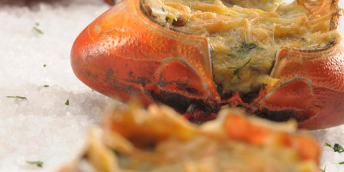 Carapachos de cangrejo