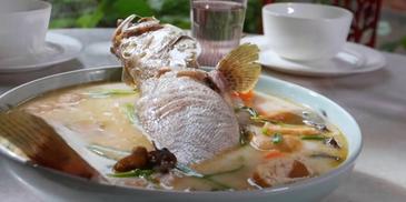 Steam Grouper Fish