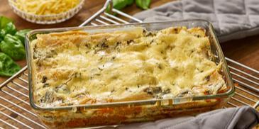 Hirse-Lasagne