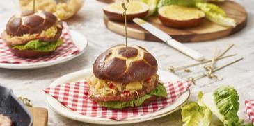 Fleischkäse-Burger