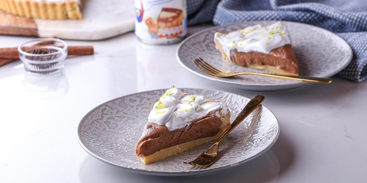 Pie de Habichuelas con Dulce y Limón