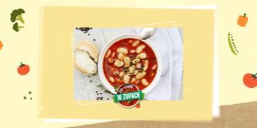 Zupa ze świeżej fasoli a'la fasolka po bretońsku