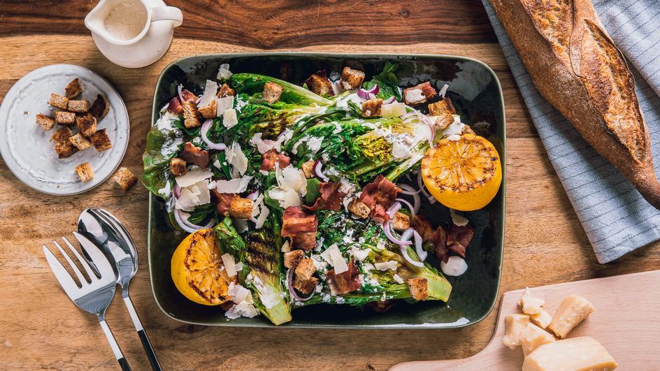 Gegrillter Caesar Salad