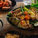 Sampyupsal with Marinated Grilled Vegetable