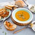 Imbierinė moliūgų sriuba