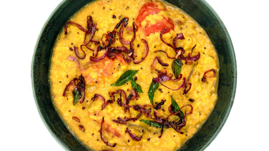 Masoor (Red Lentil) and Coconut Dhal