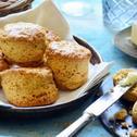 Fokhagymás-fűszeres scone