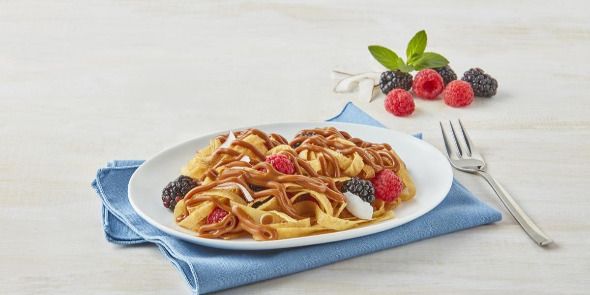 Espagueti de crepas