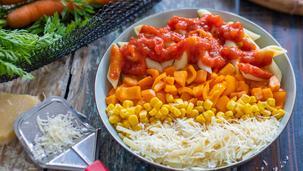 Pasta Bowl mit Tomatensauce