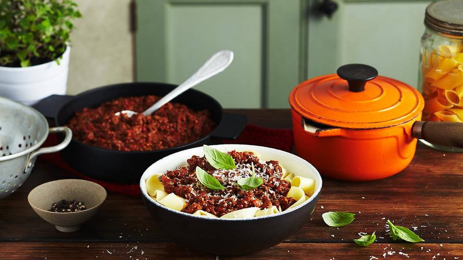 Chilli Beef Bolognese