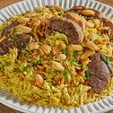 أرز بلحم الغنم على الطريقة السعودية - أرز كابلي