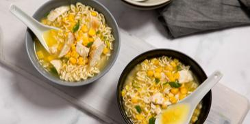 Chicken & Corn Noodle Soup