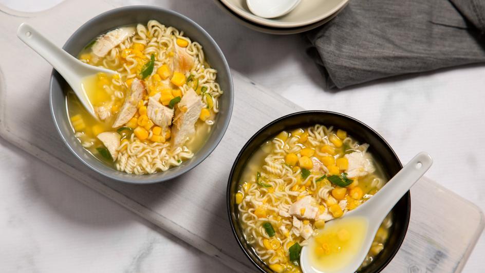 Chicken & Corn Noodle Soup