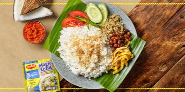 Nasi Ulam khas Betawi