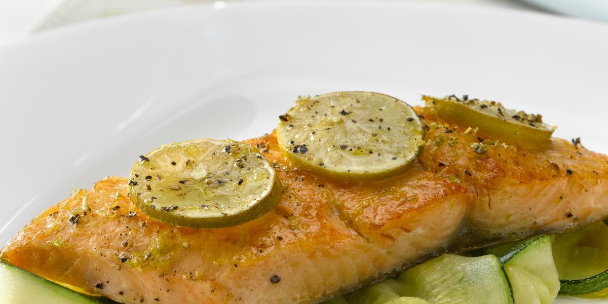 Salmon al Limon de Pica