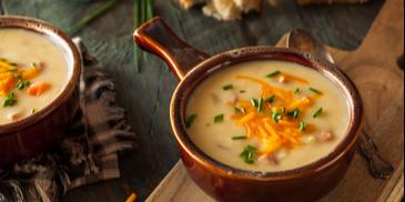 Supa crema de branza