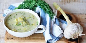 Zupa ogórkowa z małosolniaków