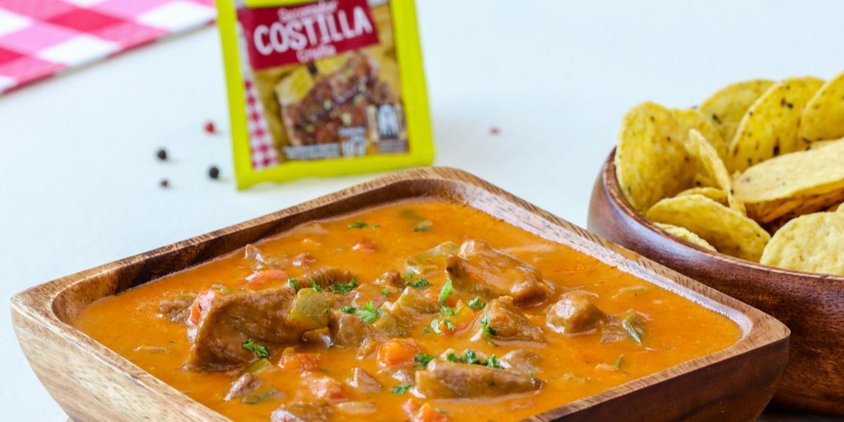 Chili con Carne y Queso Fundido