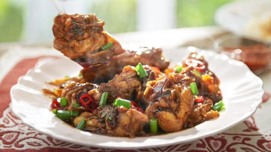Resipi Ayam Halia 20 Minit