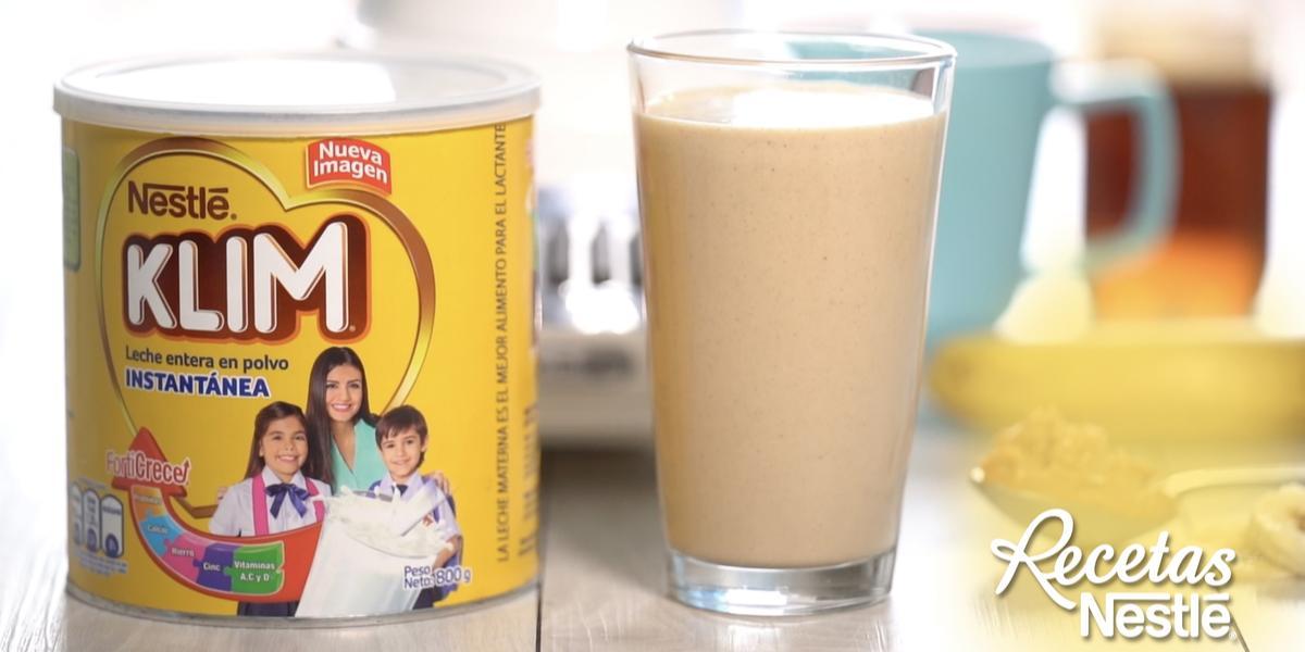 Batido De Guineo Y Mantequilla De Maní Recetas Nestlé