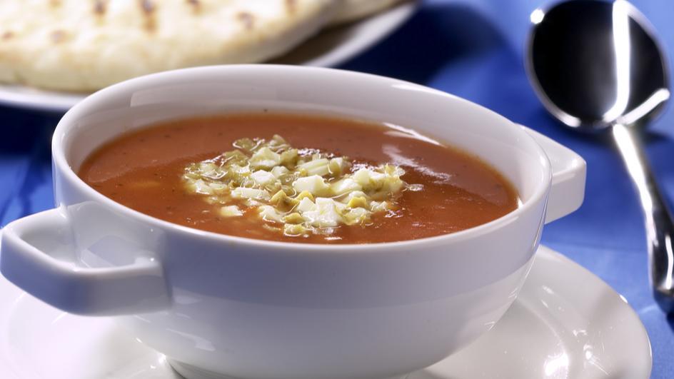 Griechische Tomatensuppe