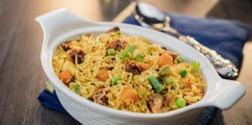 Vegetable Badi Biryani Recipe