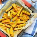 Fűszeres édesburgonya hasábok